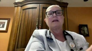 Palm Beach County COVID-19 cases decline