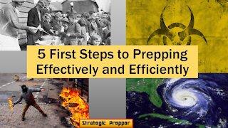 5 Steps to Start Prepping