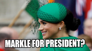 Meghan Markle Seeks to RUN FOR PRESIDENT meets with Senior Democrats