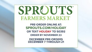 Celebrating the goodness of the holidays with Sprouts Farmers Market