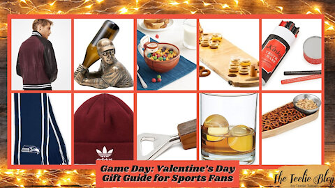 The Teelie Blog | Game Day: Valentine's Day Gift Guide for Sports Fans