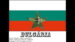 Bandeiras e fotos dos países do mundo: Bulgária [Frases e Poemas]