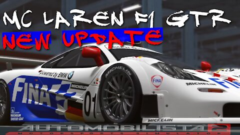 AMS 2/CHECK OUT NEW UPDATE MCLAREN F1GTR MUST SEE