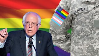 Bernie Sanders Defends Sodomites In The Military