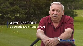 Larry's Double Knee Replacement Story