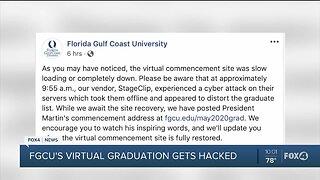 FGCU 2020 virtual graduation faces cyber attack