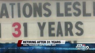 Ocotillo Elem. teacher retires after 31 years