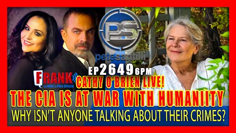 EP 2649-6PM IT'S TIME TO END THE CIA's WAR CRIMES AGAINST HUMANITY - CATHY O'BRIEN LIVE