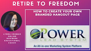 How to create your own branded hangout page
