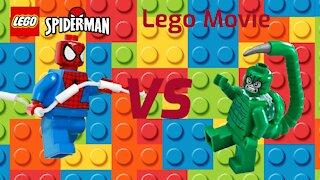 Lego Movie | Spiderman vs Scorpion
