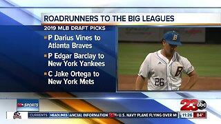 Three CSUB baseball players drafted