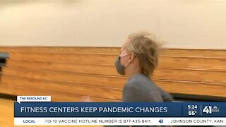 Fitness centers keep pandemic changes