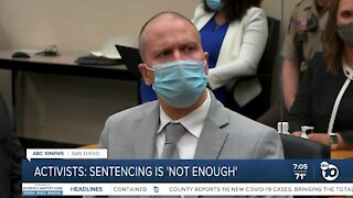 Local response to Chauvin sentence