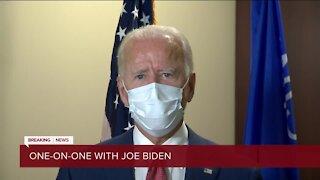 FULL INTERVIEW: TMJ4 News' Charles Benson has 1-on-1 with Joe Biden