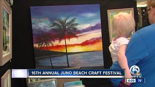 16th annual Juno Beach craft festival held this weekend