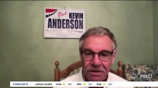 Mayoral candidate Kevin Anderson