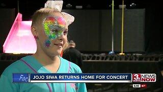 JoJo Siwa returns home for concert