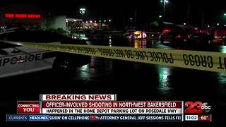 Officer involved shooting in NW Bakersfieldi