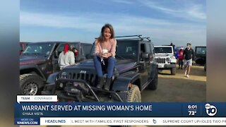 Police search missing Chula Vista mom's home