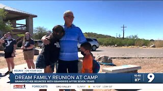 Dream family reunion at Triangle Y Ranch Camp
