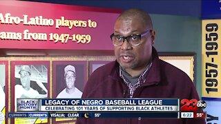 Legacy of Negro Baseball League