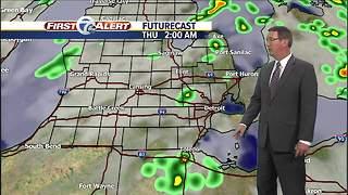 Metro Detroit Forecast: Storms move through