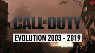 CALL OF DUTY EVOLUTION 2003 - 2019