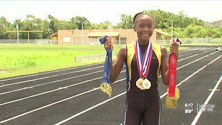 Local runner dreams of 2028 Olympics
