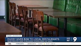 Gov. Ducey announces $2M to local restaurants