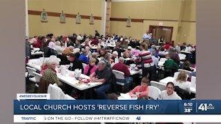 Local church hosts 'reverse fish fry'