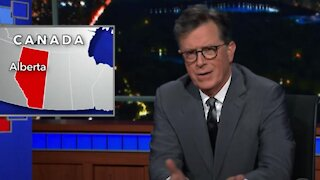 Alberta Just Got Roasted On 'The Late Show' & The Rest Of Canada Got Dragged Down With It