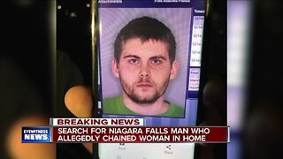 Police search for Niagara Falls man who allegedly chained woman in home