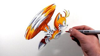 Drawng Classic Tails
