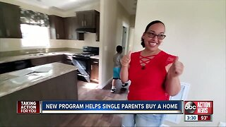 Single parents achieving dreams of a home ownership