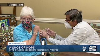 COVID-19 vaccines now going to assisted living facilities