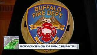 Buffalo firefighters promoted at ceremony