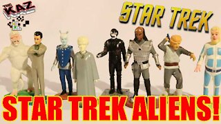 Star Trek Alien Figurines