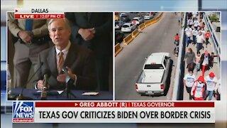 Texas Governor SLAMS Biden Admin For Not Answering Critical Questions On Border Crisis