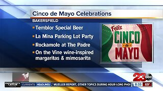 Temblor celebrating Cinco de Mayo with tequila beer
