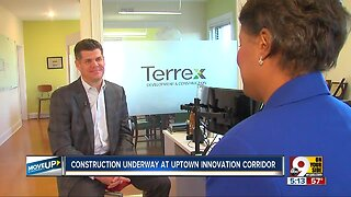 Construction underway at Uptown Innovation Corridor