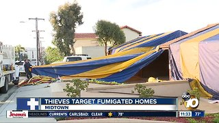 Suspected thieves arrested after break-ins at fumigated homes