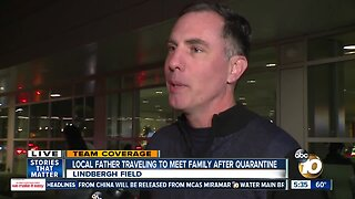 San Diego man traveling to Northern California to meet family after quarantine