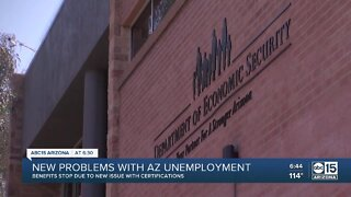 New problems with Arizona unemployment