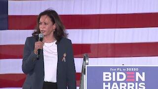 Sen. Kamala Harris makes campaign stop in Orlando (15 minutes)