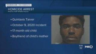 Man arrested for murder of girlfriend's child