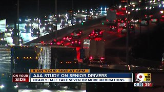 AAA study on senior drivers