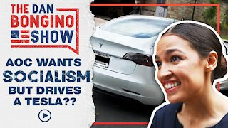 AOC Wants Socialism But She Drives A Tesla???