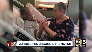 Valley veteran homeless for decades reunited with sister after 40 years