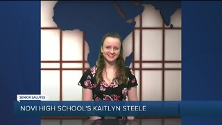 WXYZ Senior Salutes: Novi High School's Kaitlyn Steele