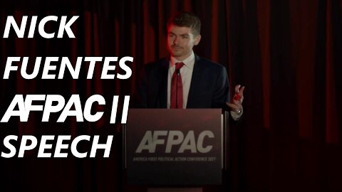 Nick Fuentes Speaks at the Second America First Political Action Conference